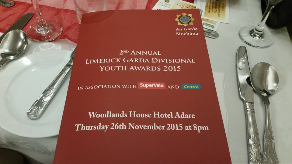 Cover of the awards night booklet